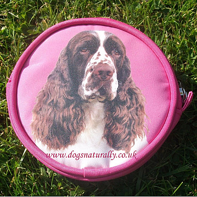 English Springer Purse Pink or Lilac
