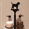 Border Terrier Hand Card Holder (Soap & Lotion)