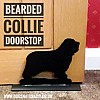 Bearded Collie Door Stop