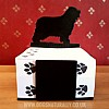 Bearded Collie Noteblock holder