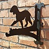 Bedlington Terrier Wall Bracket