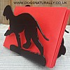 Bedlington Terrier Letter Rack