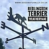 Bedlington Terrier Weathervane