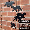 Bedlington Terrier Windchimes