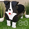 Luxury Border Collie Caddy/Stand