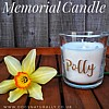 Personalised Dog Memorial Candle