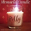 Memorial Candle Personalised & Scented