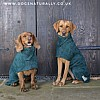 Green Drying Coat - Labrador and Spaniel